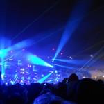 Noch mehr Lasershow
