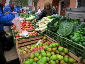 Wochenmarkt in Purkersdorf