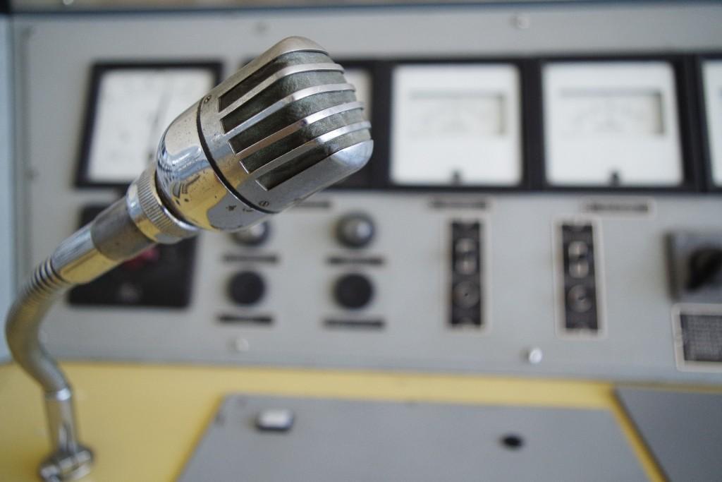 Mikrofon Sendeanlage Bisamberg