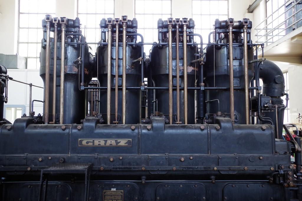 Dieselaggregat Sendeanlage Bisamberg